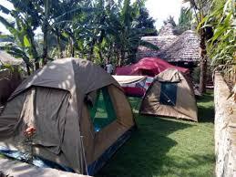 Arusha National Park Campsite
